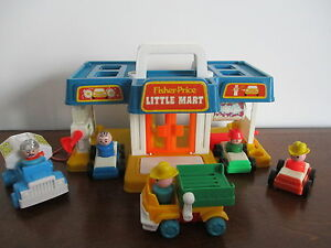 Garage  Vintage  Fisher Price