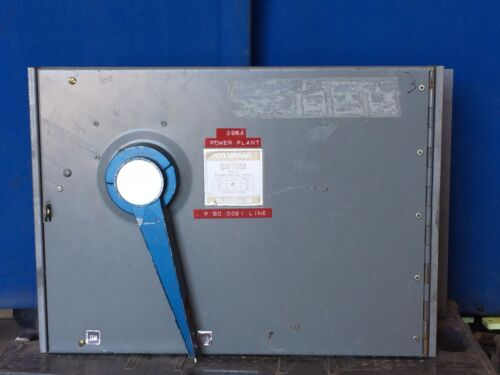 SYLVANIA QSF-6053 600A 600V 3PH FUSIBLE PANELBOARD SWITCH W/HARDWARE