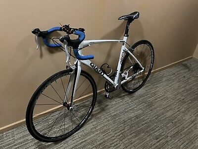 Giant Defy 3 Large Road Bike, White, Fulcum Racing 3.5 wheelset, good condition