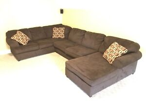 3 piece Sectional couch with chaise lounge