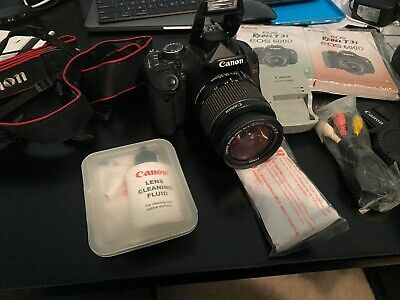 Canon EOS Rebel T3i / EOS 600D 18.0MP Digital SLR Camera - Black (Kit w/ EF-S...