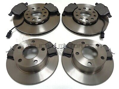 Audi A6 C7 All 2011 Drilled Grooved Front Brake Discs PR:1LL 356mm