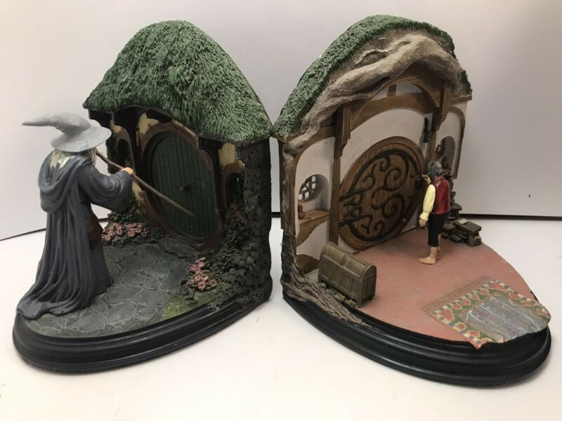 NO ADMITTANCE Bookends LOTR * The Lord Of The Rings * Sideshow Weta
