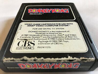 Donkey Kong / Cart Only / Atari 2600 / Tested / PAL