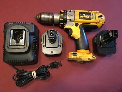 Dewalt Dc940 12v Xrp Variable 3 Speed 12 Drill 2-3600 Ah Batteries Charger