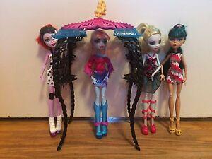 Monster High Dolls x4