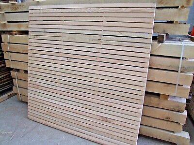 Solid Oak Fence Panel