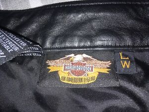 HD size large leather chaps. Great condition. $65