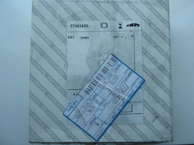Genuine Fiat 500 ARBARTH LINEA BRAVO STILO Front Brake Pads Part No. 77363420