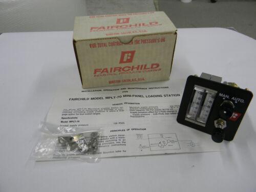 New Fairchild Model MPLT70 Pressure Regulator Indicating Station  G3