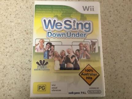 Wii We Sing Down Under