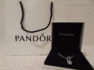 Pandora Classic Elegance Pendant With Sterling Silver Pandora Chain Warners Bay Lake Macquarie Area Preview