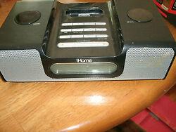 iHome ih8 AM/FM Ipod Alarm Clock Radio