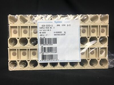 Sysmex Sample Rack No. 3 Coagulation Analyzer For Sale