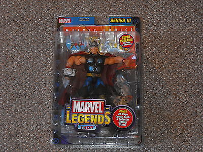 2003 Toy Biz Marvel Legends Series III Thor MOC Brand New Sealed