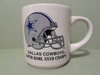 Dallas Cowboys Super Bowl 1993 Football Helment Mug Collectible Souviner Bills](Cowboys Helment)