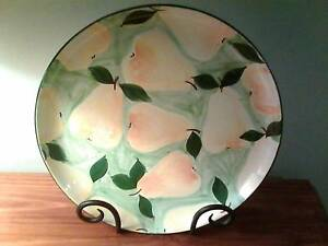 LARGE STONEWARE PLATTER MADE IN PORTUGAL Hackham West Morphett Vale Area Preview