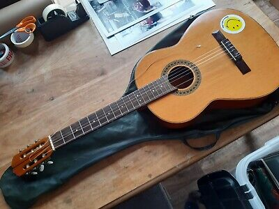 Acoustic guitar - Spanish made, Will need restringing / Tuning. & Case
