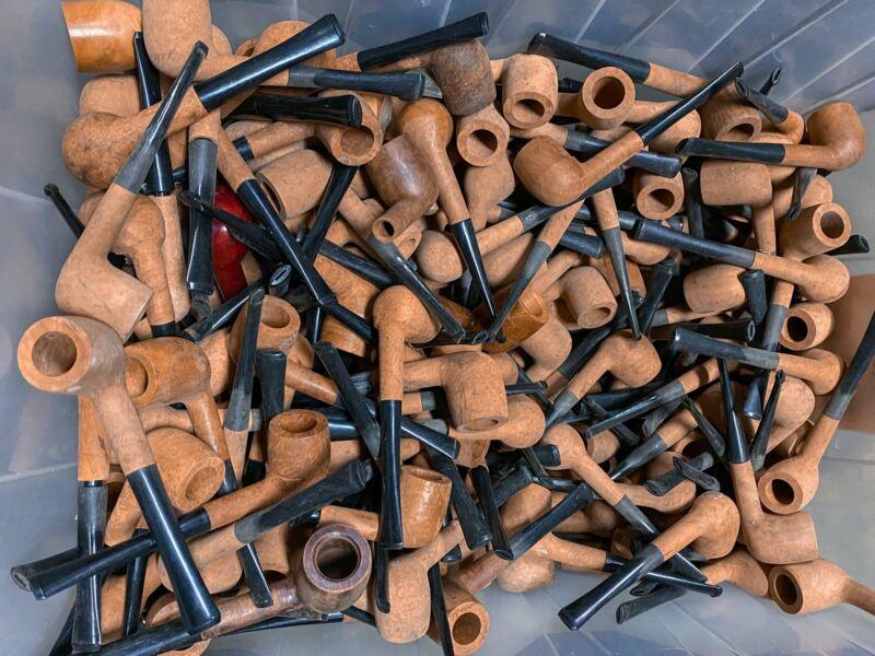 French Briar Wood A-grade Billiard