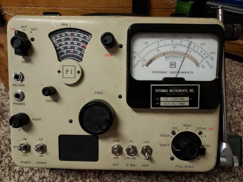 Potomac Instruments Field Strength Meter Model FIM-71 Powers On EUC