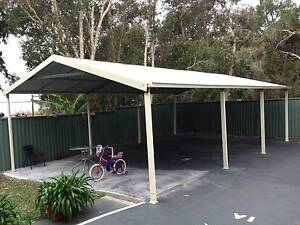 New  carport 6 x 9  $2400 or 6 x 12  $ 3200 Canberra City North Canberra Preview