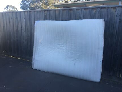 Free IKEA matress cover comes off to wash DOUBLE BED