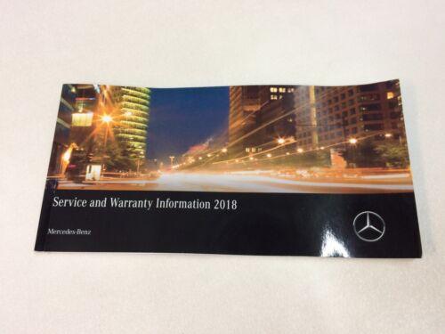 MERCEDES-BENZ+Service+And+Warranty+Information+2018+Part+No+A+117+584+98+04