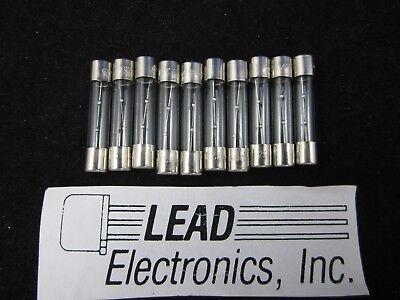 10x Mdl-5a Amp 31305.0 6mm X 30mm Slo-blo 5-amp 125-volt Glass Fuse