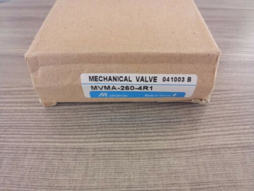 1pc New Mindman Mechanical Valve Mvma-260-4r1