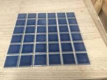 MOSAIC POOL TILES SKY BLUE GLOSS 48 X 48MM $ 2 PER SHEET Bentleigh East Glen Eira Area Preview