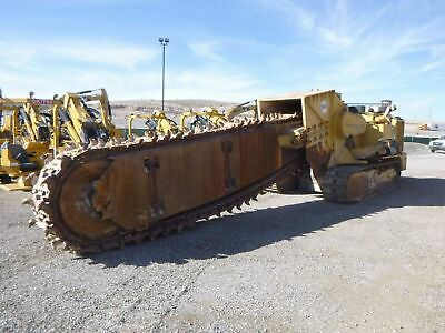 1989 Trencor 860l Crawler Trencher 20 Ft Boom 2770