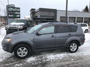 2009 Mitsubishi Outlander LS BLUETOOTH AWD 7 PASSAGERS SIEGES CH