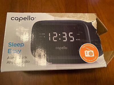 Capello Digital AM & FM Alarm Clock Radio - Black (CR15) - FREE SHIPPING!!!