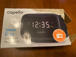 Capello Digital AM & FM Alarm Clock Radio - Black (CR15) - FREE SHIPPING!!!