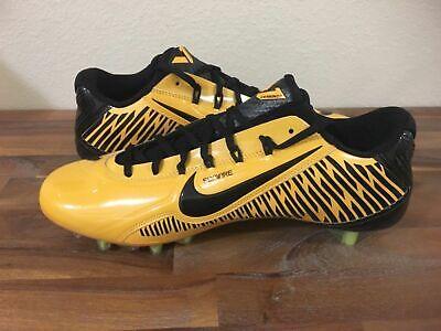 best sneakers 57cb7 72e1e Nike Vapor Carbon Elite TD Football Cleats Yellow Black 657441-725 Men Sz  13.5