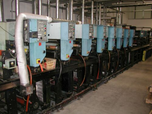 WEBTRON 8 COLOR FLEXO PRESS
