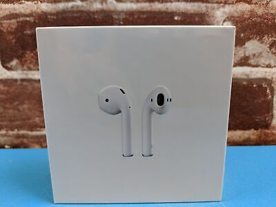 New Apple AirPods 2nd Generation with Wired Charging Case MV7N2AM/A - White