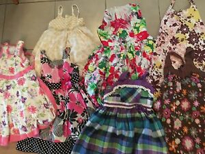 Girl's summer dresses size 6. AVAILABLE