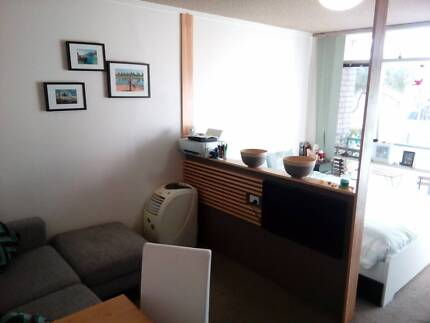 self contained studio Glebe 5 week's 7th dec- swimming pool, roof