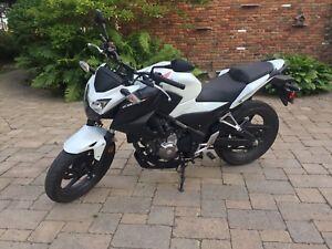 2015 Honda CB300F for sale or trade for quad