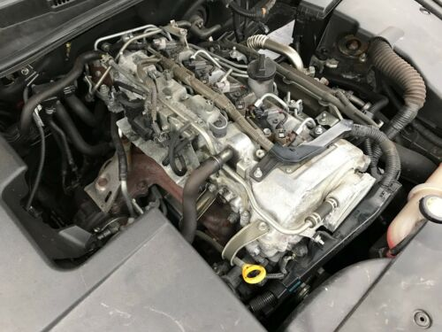 2005 - 2013 LEXUS IS220 DIESEL 2.2 ENGINE HEAD WITH VALVES CAMS GOOD CONDITION