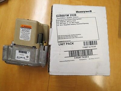 HONEYWELL SMART VALVE SV 9501M 2528 NEW IN ORIGINAL BOX (SEE BELOW)