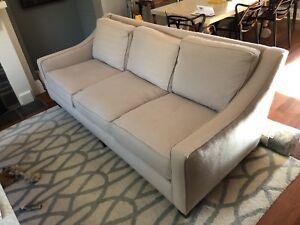 Beige sofa 3 seater