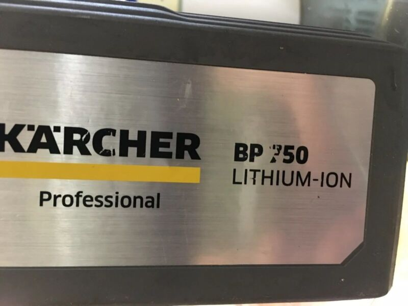 Karcher Bp750 Lithium- Ion Rechargeable Battery