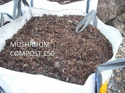 MUSHROOM COMPOST BULK BAG  soil .