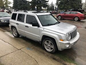 2008 Jeep Patriot Limited with 4x4