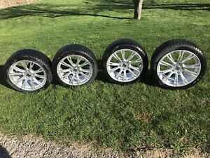 BMW- Full Set of Wheels and Winter Tires