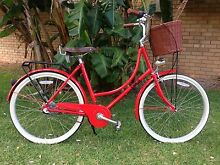 Mojo Dutchie Bike, 3 Speed, Candy Red, Almost New Bondi Beach Eastern Suburbs Preview