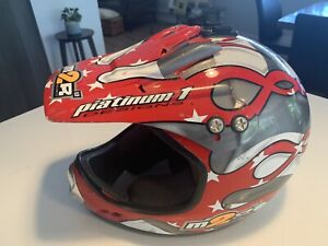 Platinum Motor Bike Helmet - size small adult