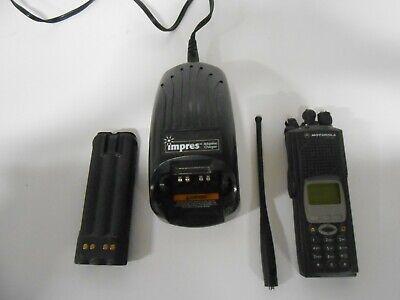 Motorola Xts5000 H18uch9pw7an Model Iii Radio 700 800 Plus Accessories